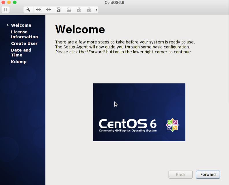 centos 6.9 虚拟机安装步骤